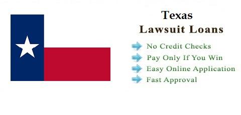 Texas Lawsuit Settlement Loans