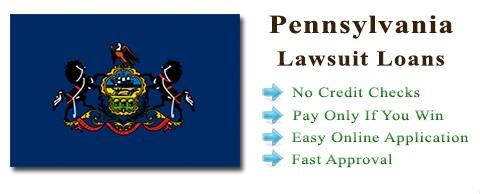 Pennsylvania Lawsuit Settlement Loans