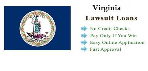 Virginia Lawsuit Settlement Loans